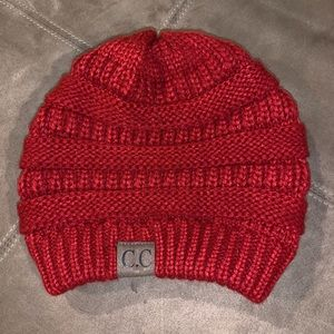 NWOT CC Boutique Chunky Knit Beanie Toboggan